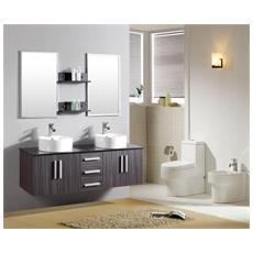 Mobile bagno doppio lavabo