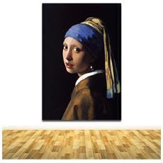 La ragazza con l orecchino di perla quadro