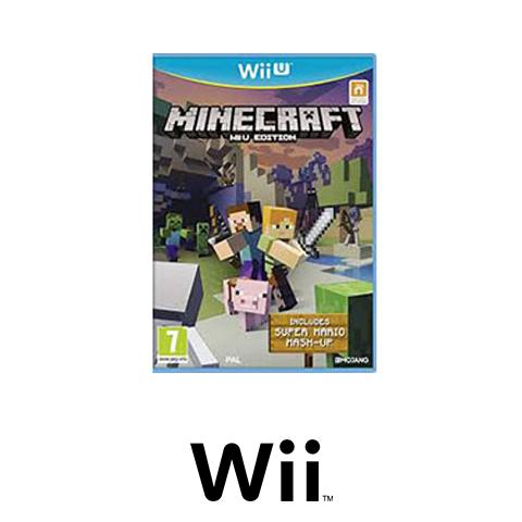 Minecraft wii